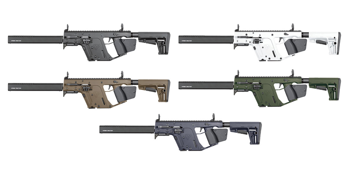 KRISS USA Reintroduces the California Compliant Vector CRB