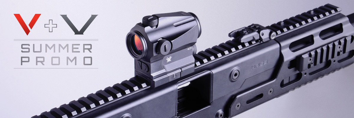 Buy a Vector and Get a Vortex Optic for Free during the V+V Summer Promo! WEB-FEATURE-2017-Summer-Promo